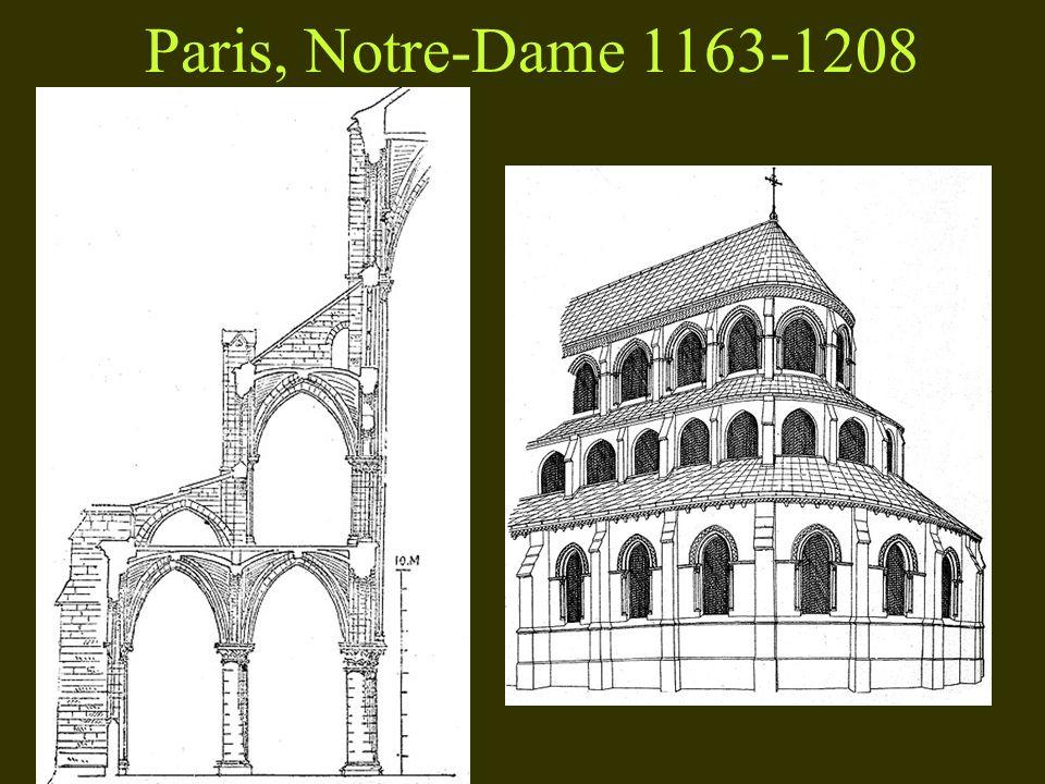 Paris, Notre-Dame 1163-1208