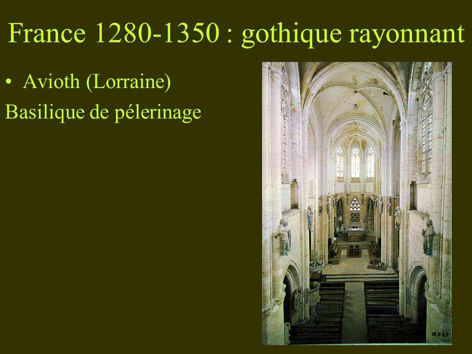 France 1280-1350 : gothique rayonnant