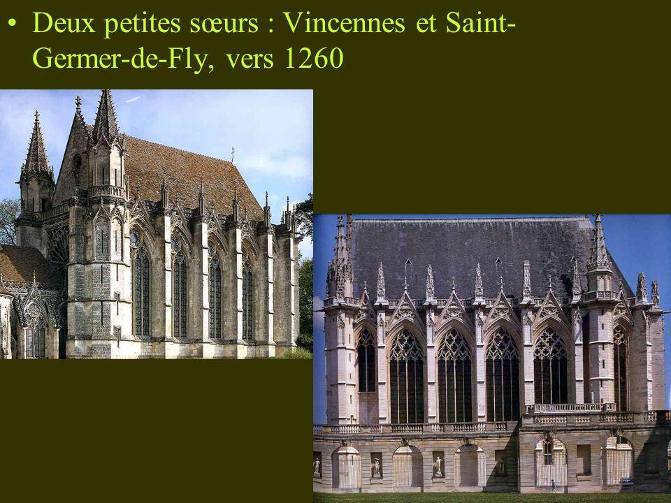 Deux petites sœurs : Vincennes et Saint-Germer-de-Fly, vers 1260