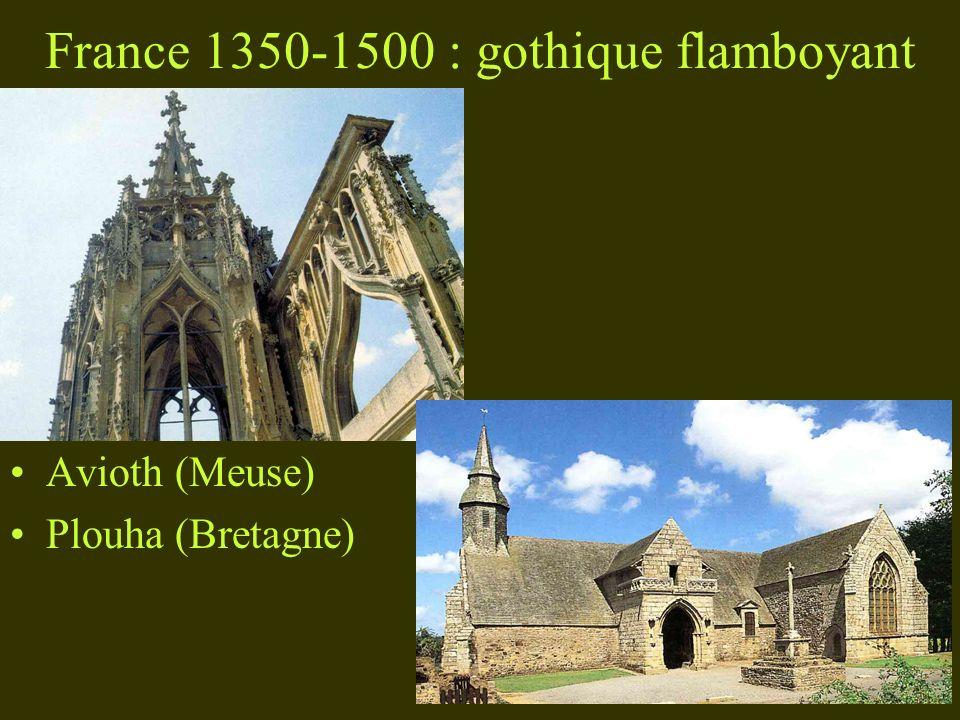 France 1350-1500 : gothique flamboyant