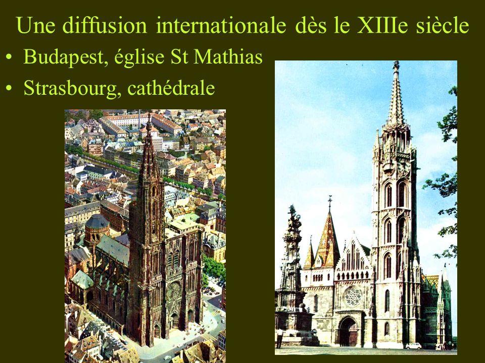 Une diffusion internationale dès le XIIIe siècle