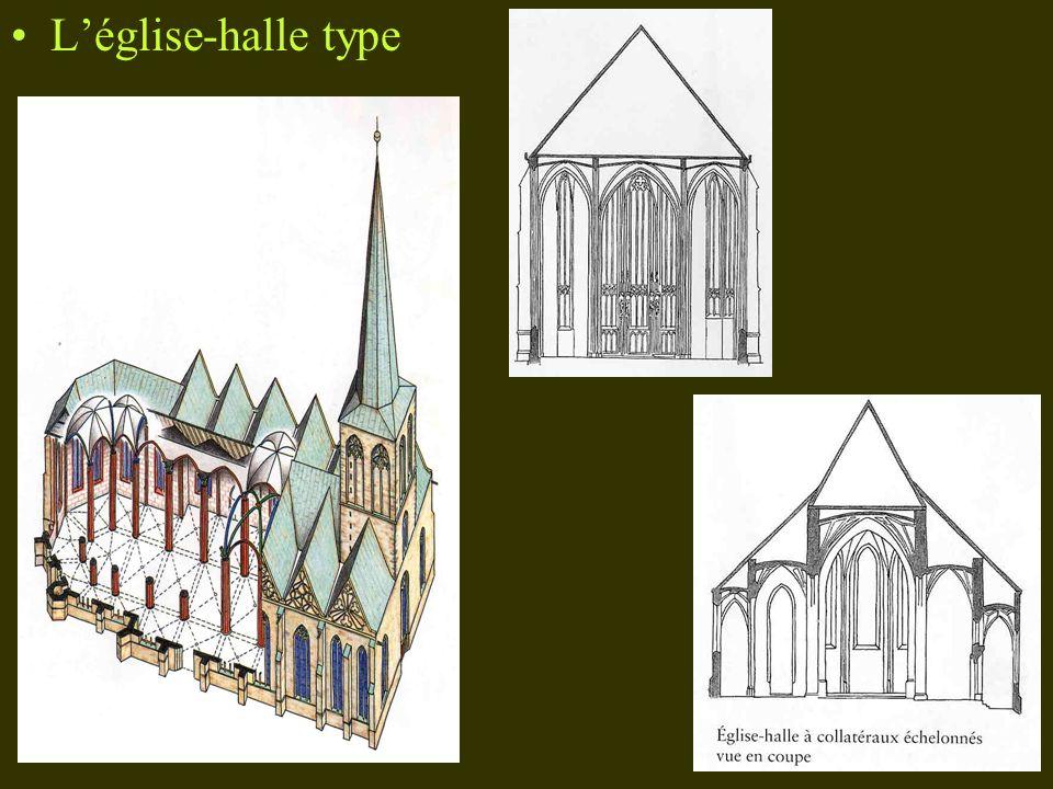 L'église-halle type