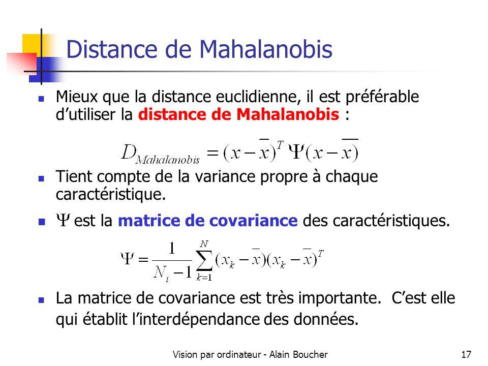 Distance de Mahalanobis