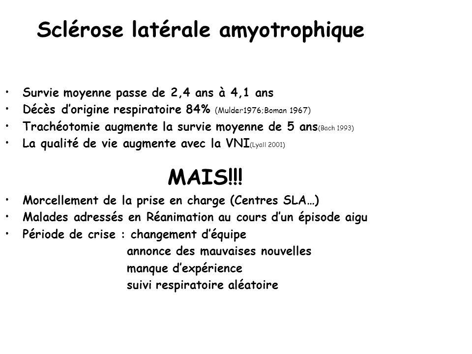 Sclérose latérale amyotrophique