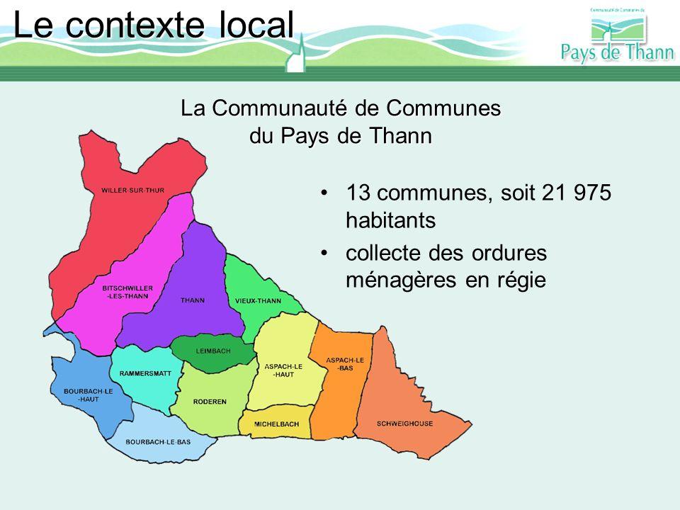 La Communauté de Communes du Pays de Thann