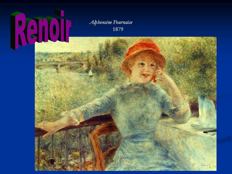 Renoir Alphonsine Fournaise 1879