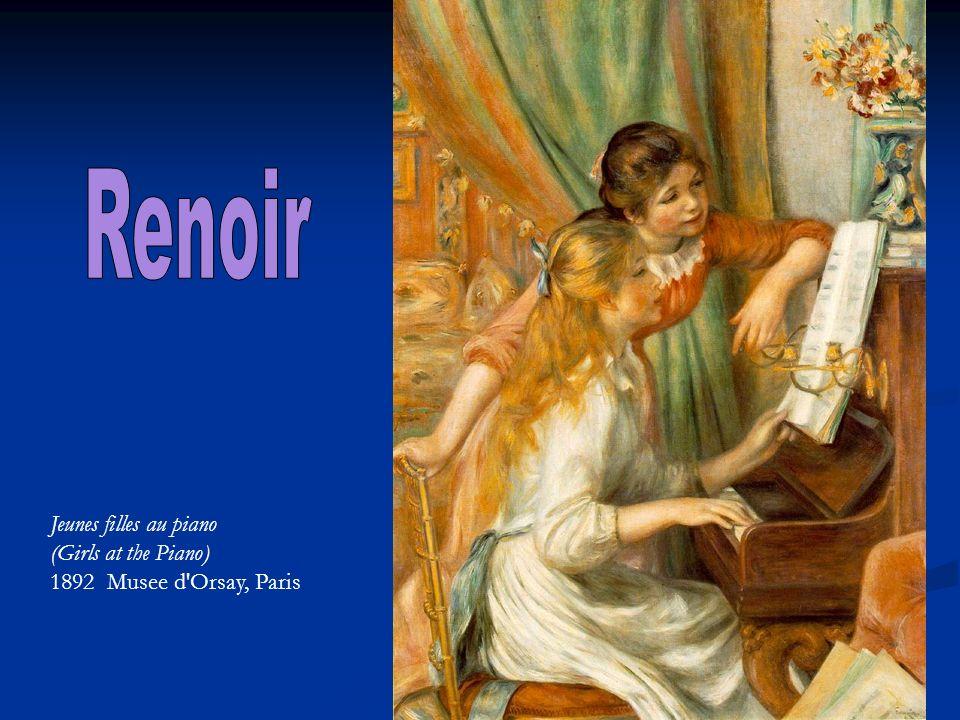 Renoir Jeunes filles au piano