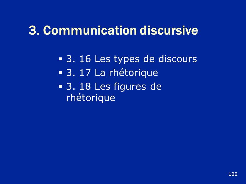 3. Communication discursive
