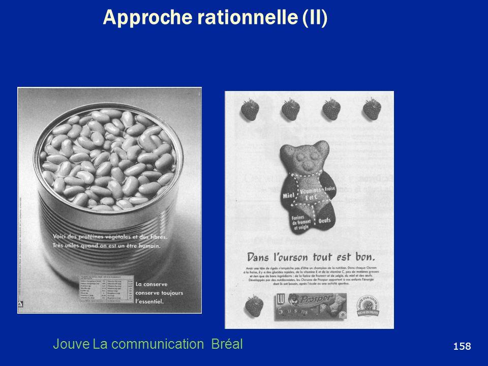 Approche rationnelle (II)