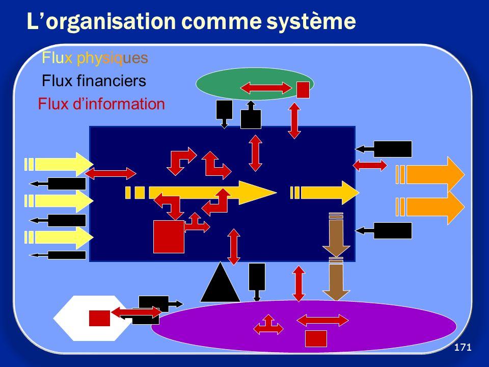 L'organisation comme système