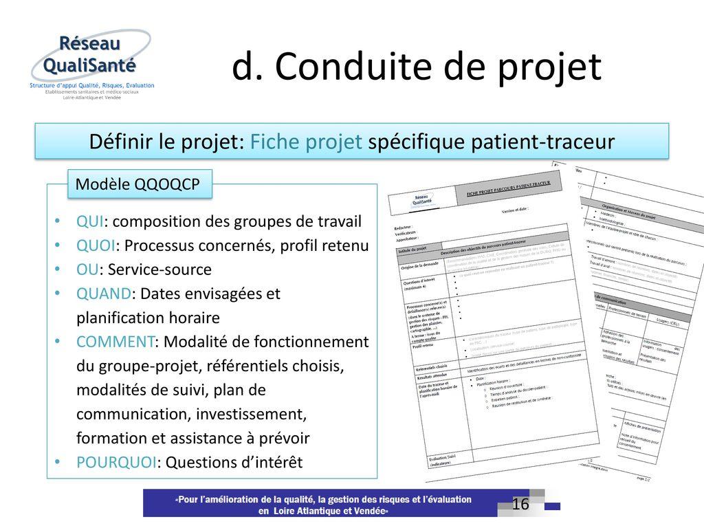 La m thodologie patient traceur ppt video online t l charger for Projet de plan