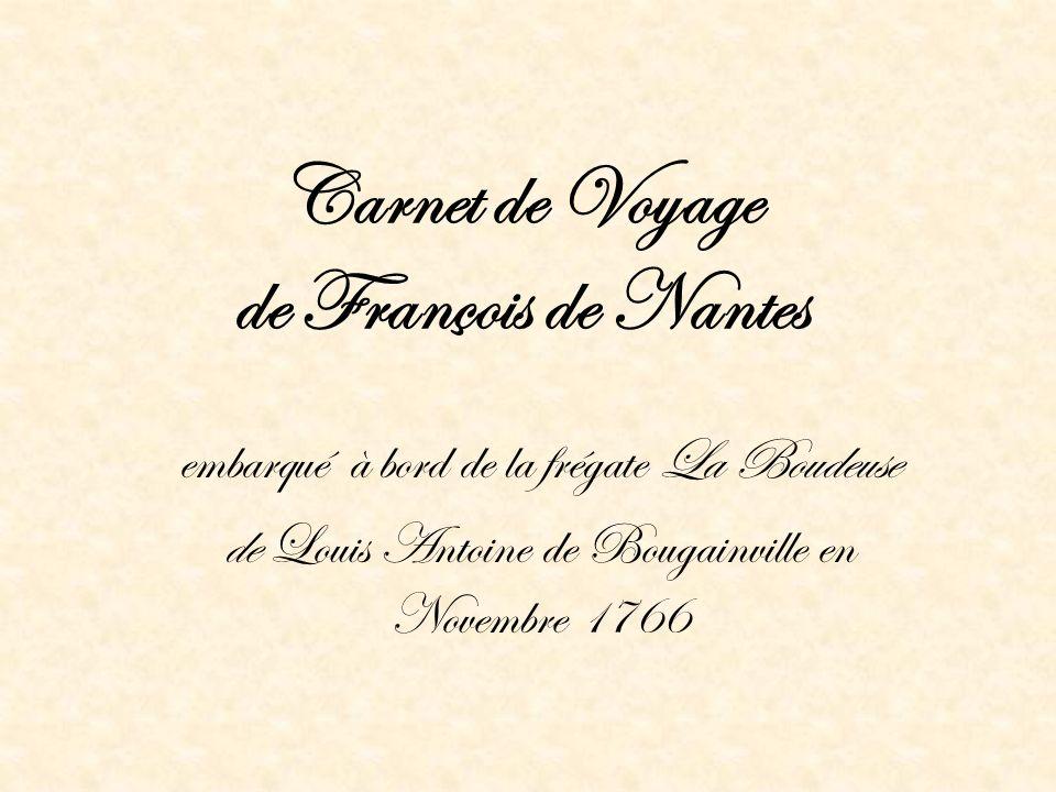 Carnet de Voyage de François de Nantes