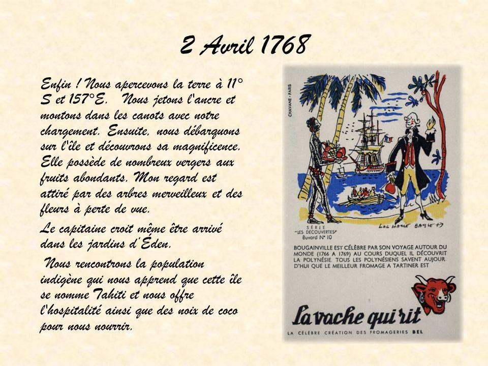 2 Avril 1768