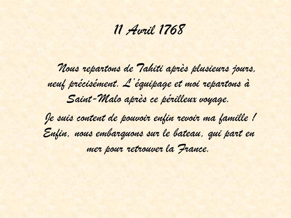 11 Avril 1768