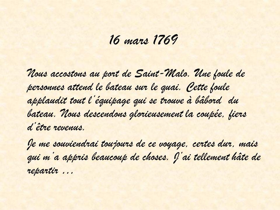 16 mars 1769
