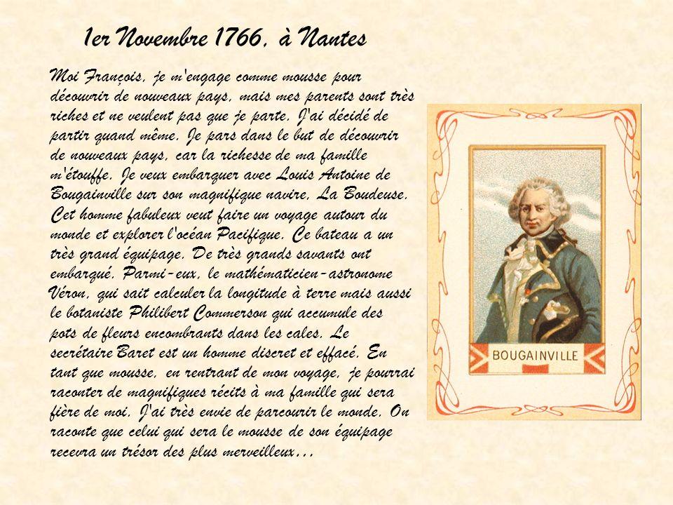 1er Novembre 1766, à Nantes