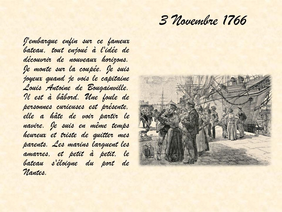 3 Novembre 1766