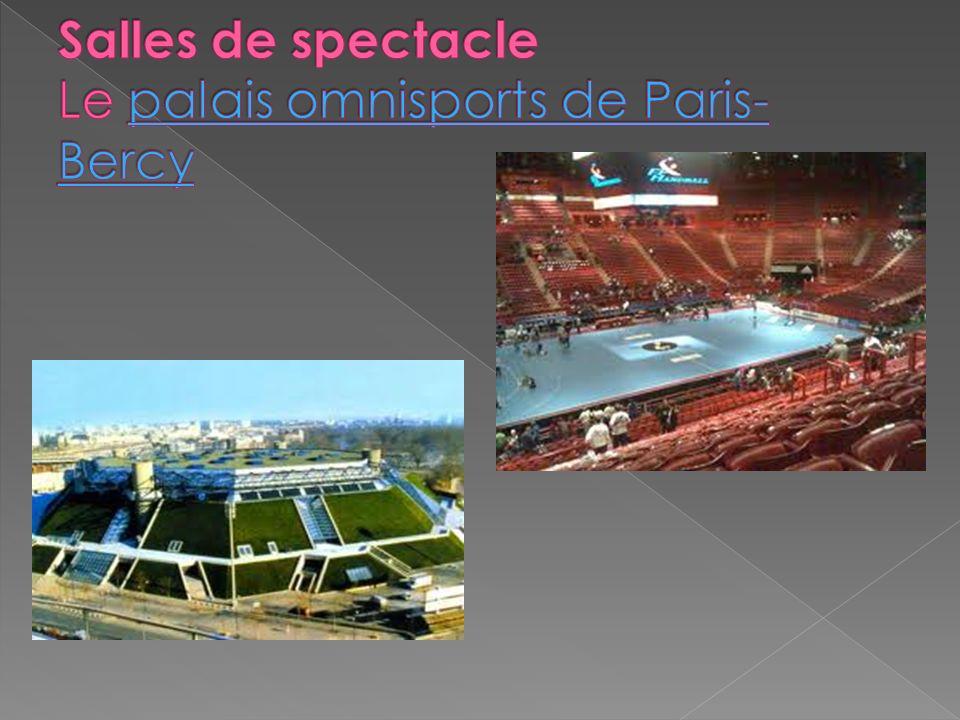 Salles de spectacle Le palais omnisports de Paris-Bercy