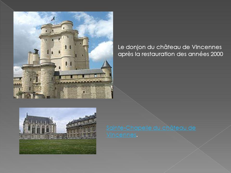 Le donjon du château de Vincennes après la restauration des années 2000
