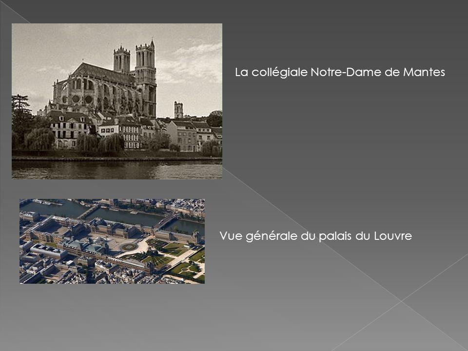 La collégiale Notre-Dame de Mantes