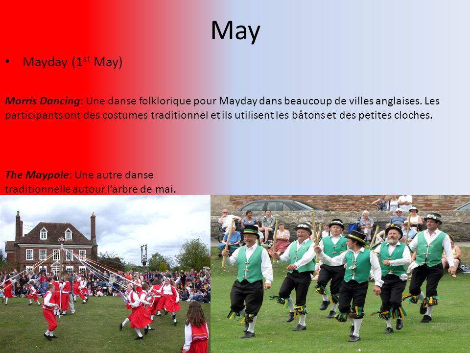 May Mayday (1st May)
