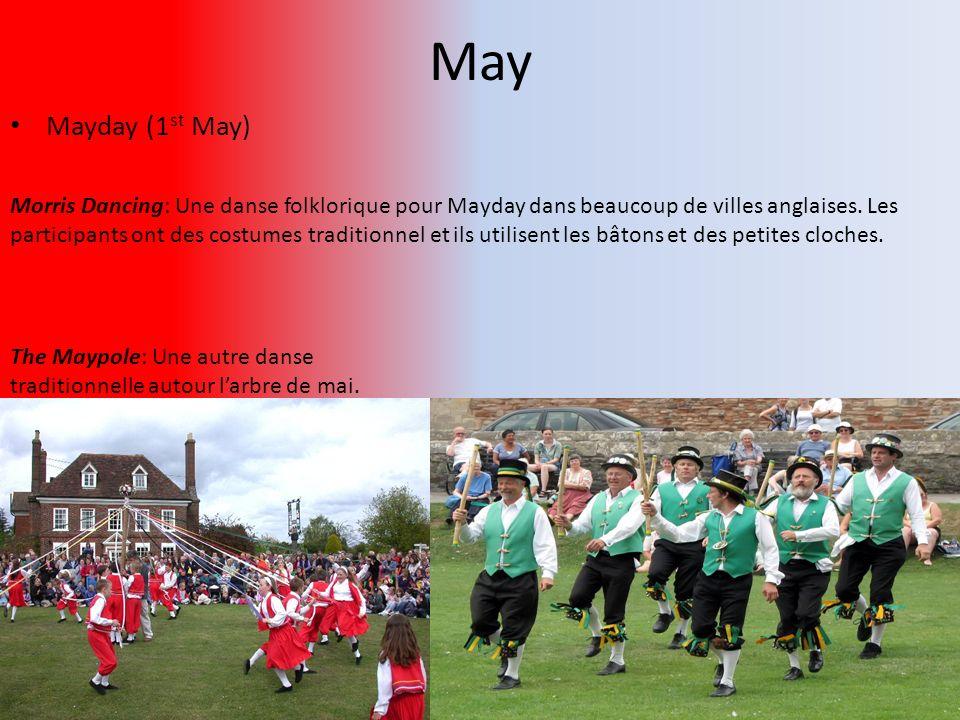 May Mayday (1st May)