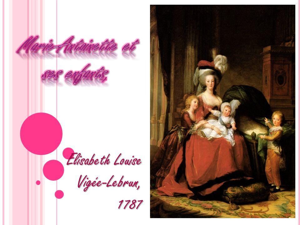 Marie-Antoinette et ses enfants,