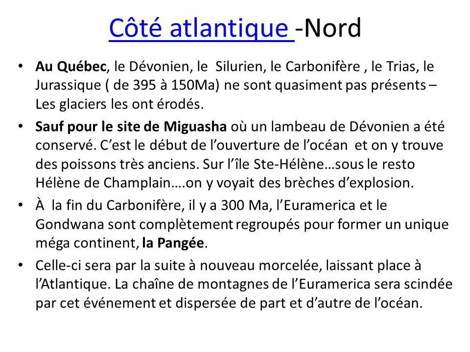 Côté atlantique -Nord