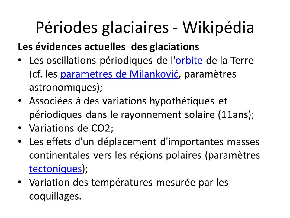 Périodes glaciaires - Wikipédia