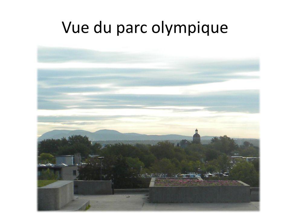 Vue du parc olympique