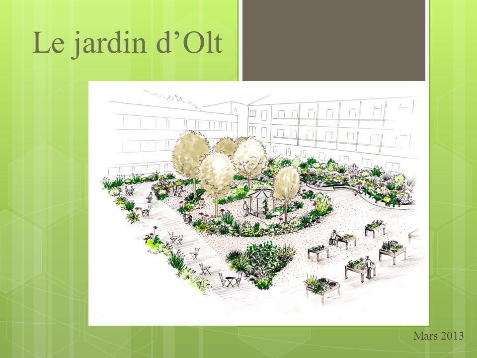 Le jardin d'Olt Mars 2013