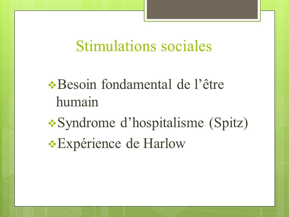 Stimulations sociales