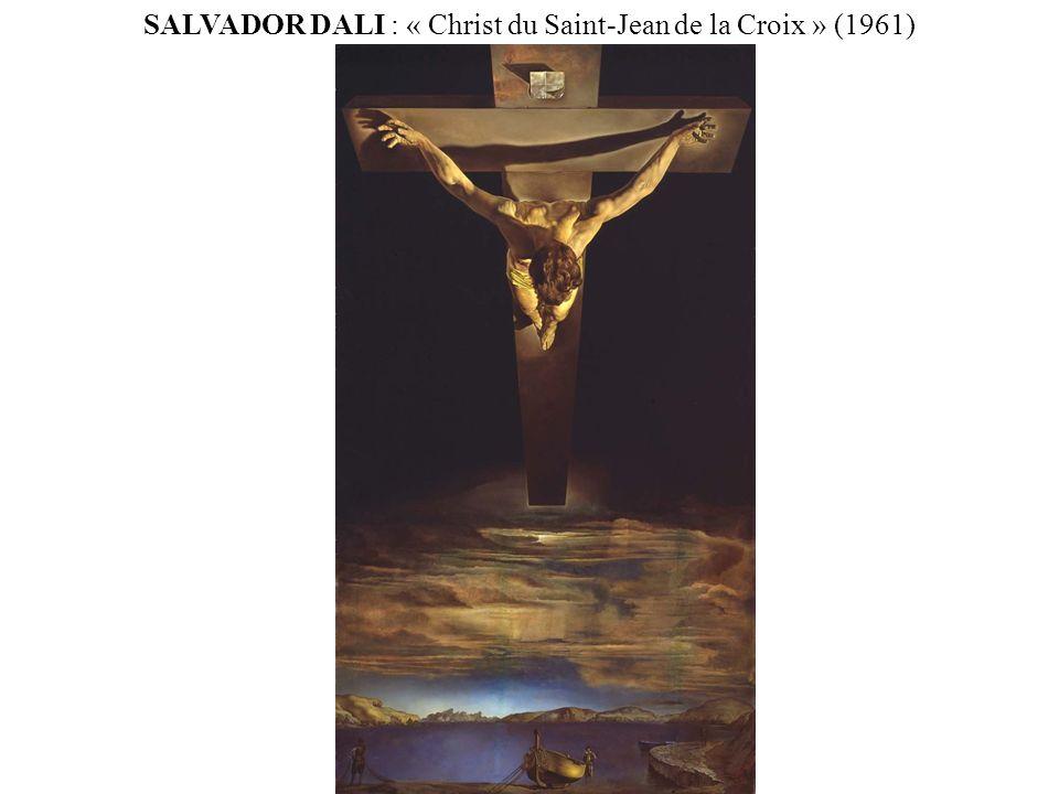 SALVADOR DALI : « Christ du Saint-Jean de la Croix » (1961)