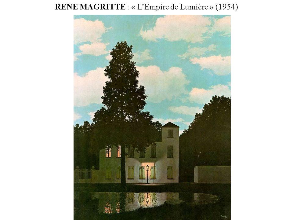 RENE MAGRITTE : « L'Empire de Lumière » (1954)