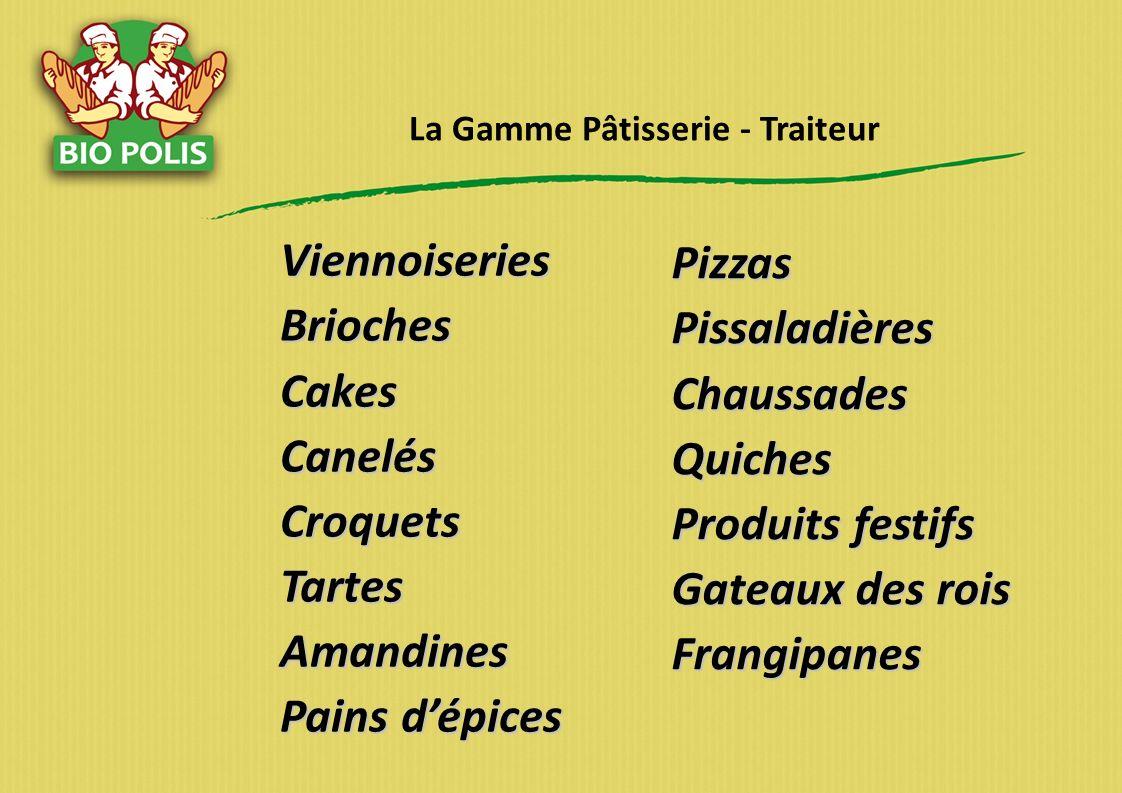 La Gamme Pâtisserie - Traiteur
