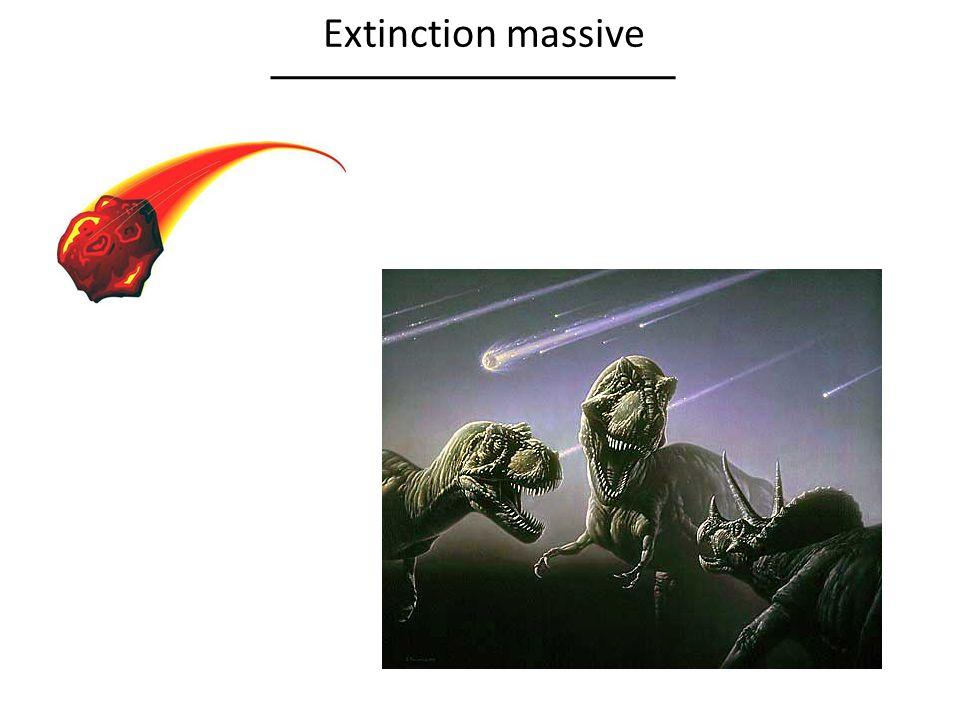 Extinction massive