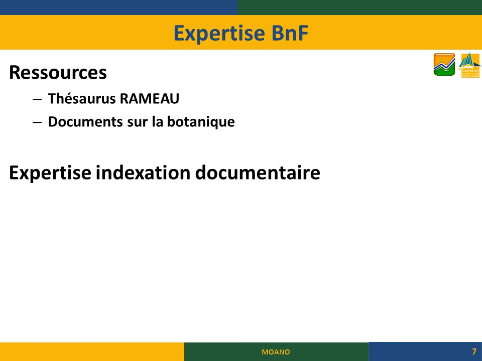 Expertise BnF Ressources Expertise indexation documentaire