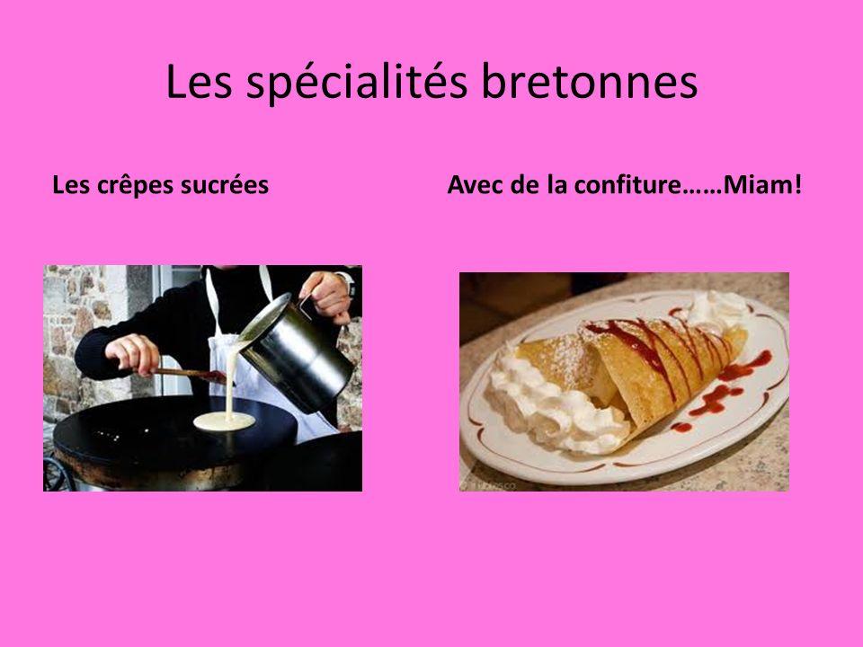 Les spécialités bretonnes
