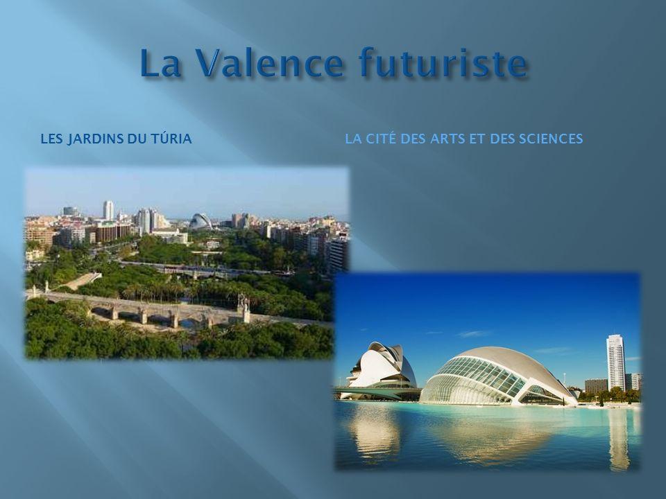 La Valence futuriste Les jardins du túria