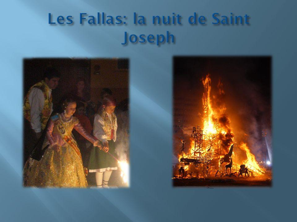 Les Fallas: la nuit de Saint Joseph
