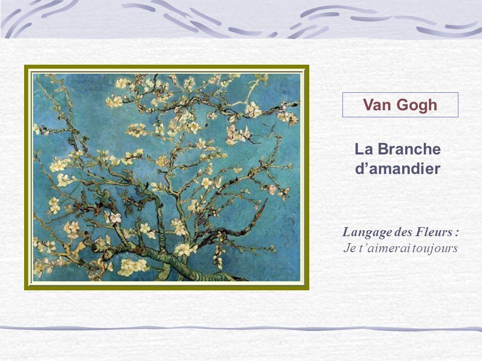 Van Gogh La Branche d'amandier