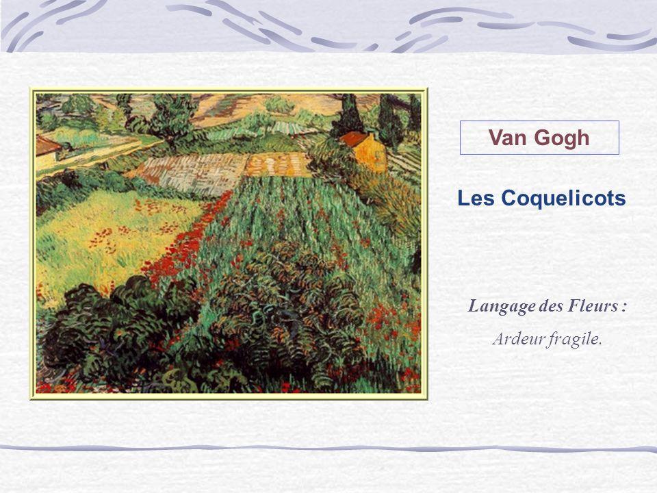 Van Gogh Les Coquelicots