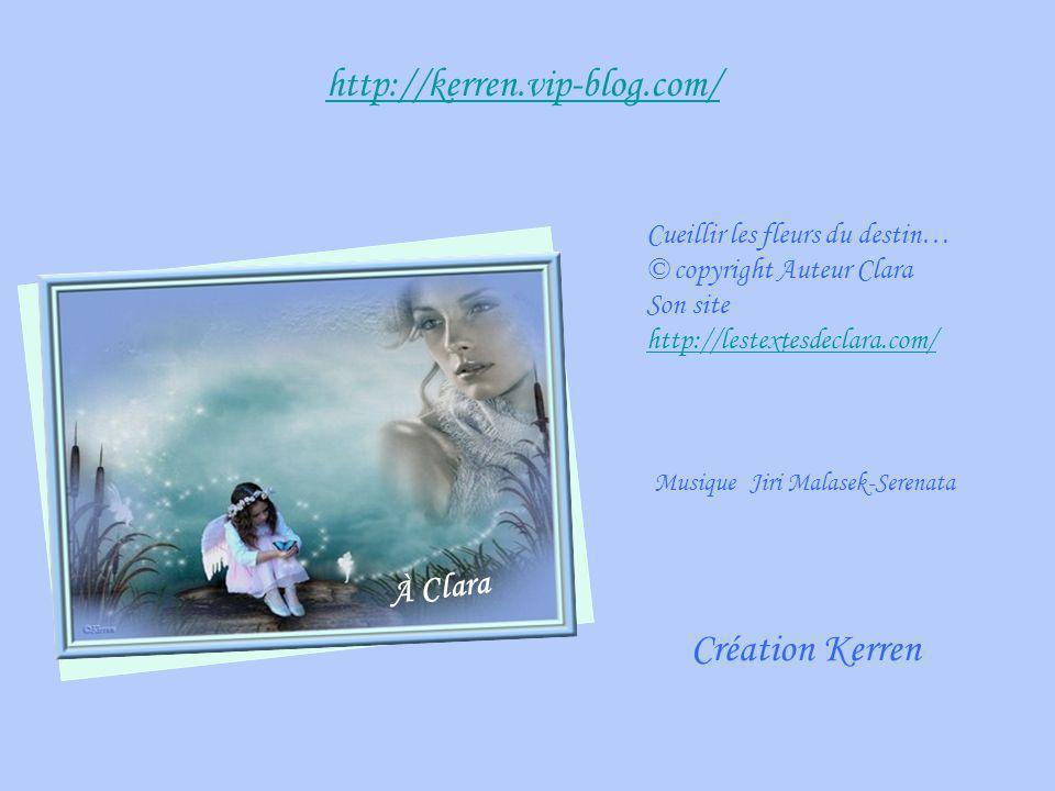 http://kerren.vip-blog.com/ Création Kerren À Clara