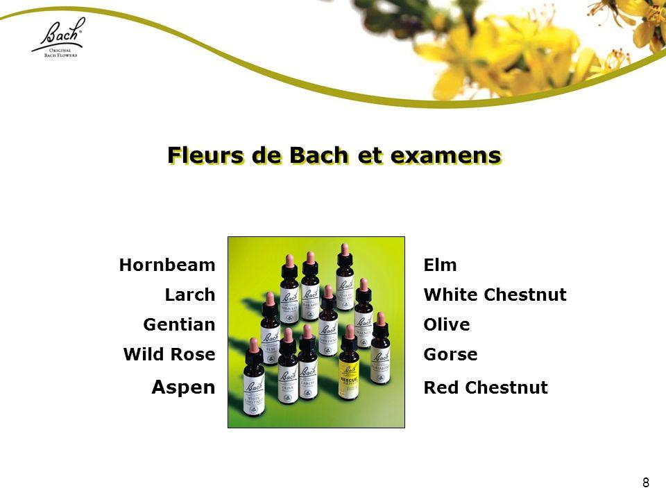 Fleurs de Bach et examens