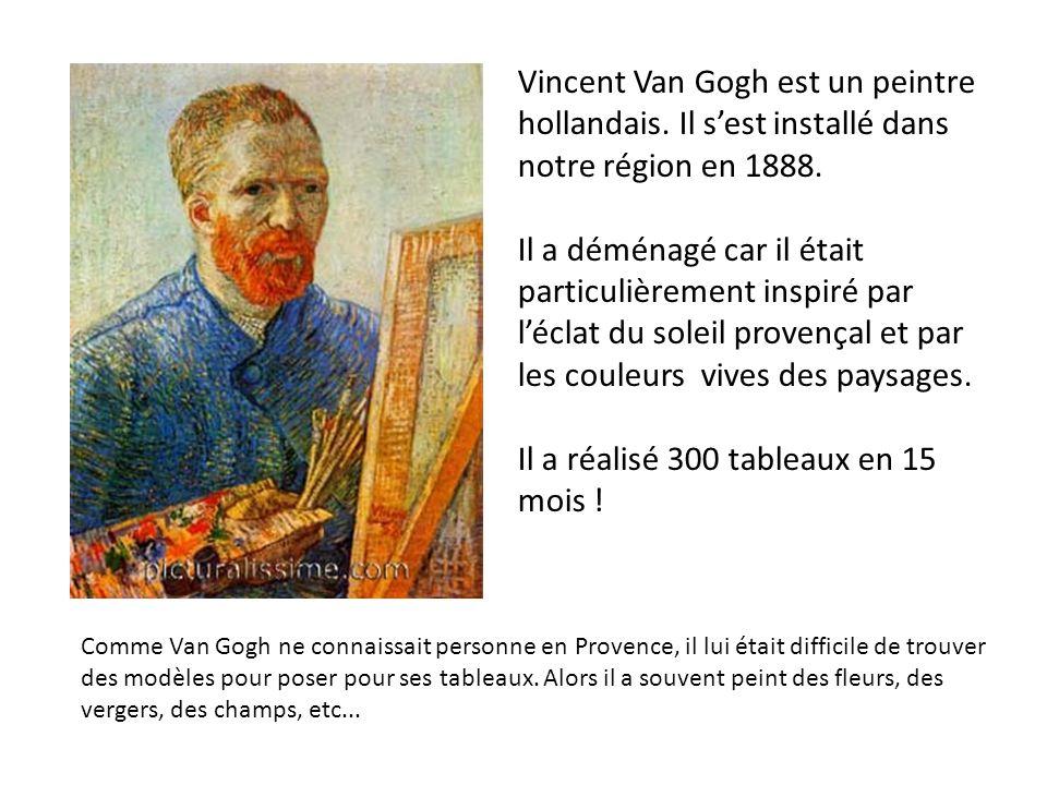 Il a réalisé 300 tableaux en 15 mois !