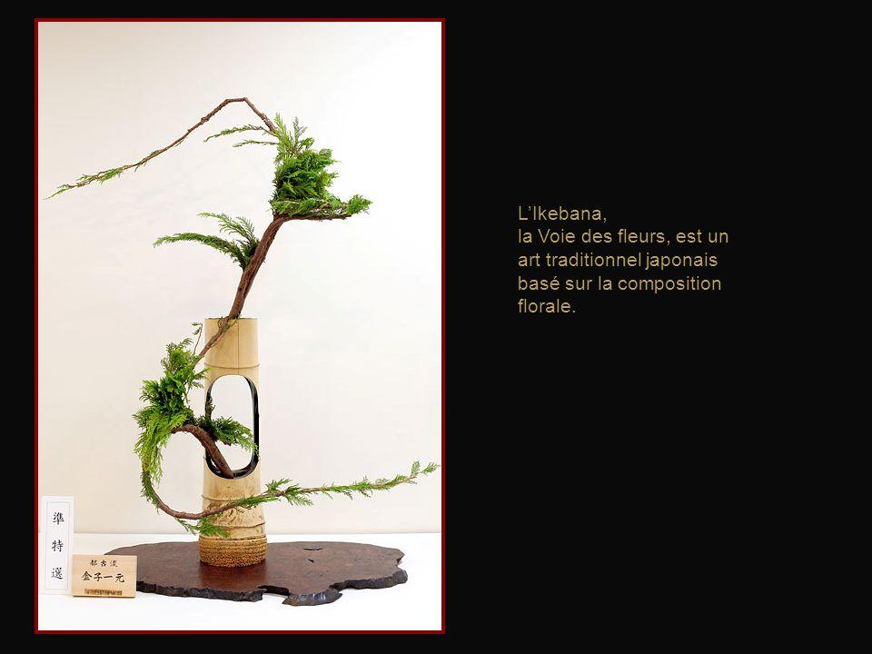 L'Ikebana, la Voie des fleurs, est un art traditionnel japonais basé sur la composition florale.