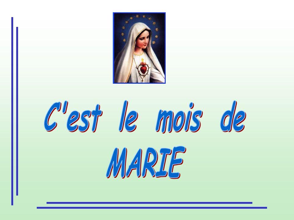 C est le mois de MARIE