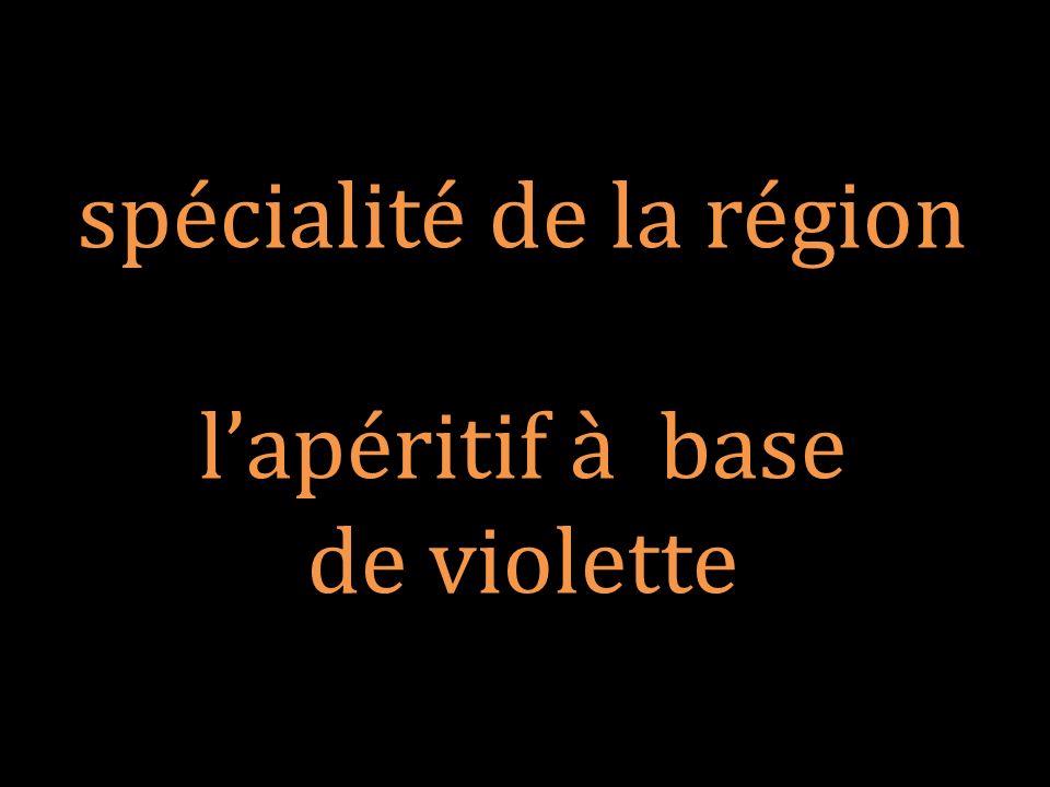 spécialité de la région