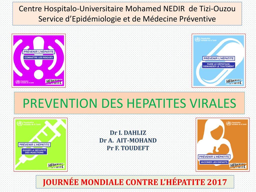 PREVENTION DES HEPATITES VIRALES - ppt video online télécharger