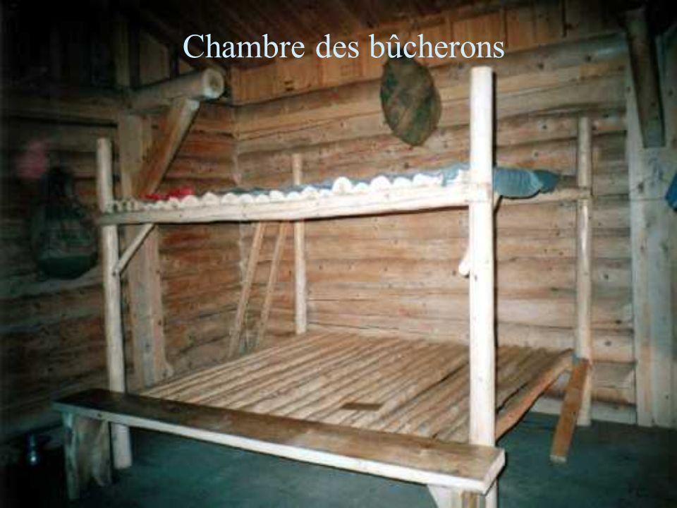 Chambre des bûcherons